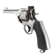 Gun Heaven Webley MK VI Revolver Vollmetall CO2 6mm BB chrom