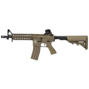 G&G GR15 RIS Raider S BlowBack Komplettset AEG 6mm BB Desert Tan