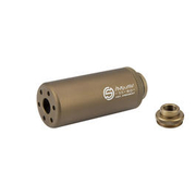 G&G SS-80 Alumininium Mock Suppressor 14mm- / 14mm+ Desert Tan