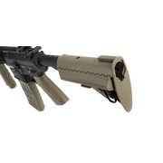 Evolution Airsoft TangoDown ECR-5 Vollmetall S-AEG 6mm BB Tan / schwarz