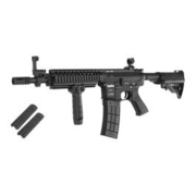 Evolution Airsoft TangoDown ECR-5 Vollmetall S-AEG 6mm BB schwarz