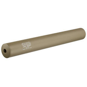 King Arms Light Weight Aluminium Silencer 335 x 40mm 14mm- Dark Earth