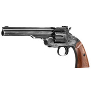 Gun Heaven 1877 Major 3 SF Revolver Vollmetall CO2 6mm BB Battlefield Finish