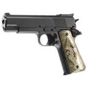 HFC M1911 Eagle-Style Gas NBB Softairpistole 6mm BB schwarz