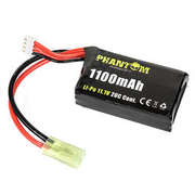 Phantom Airsoft LiPo Akku 11,1V 1100mAh 20C AN/PEQ15 Type