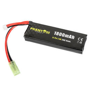 Phantom Airsoft LiPo Akku 7,4V 1800mAh 20C Small-Type