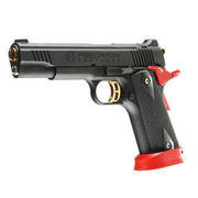 King Arms Predator Tactical Iron Shrike Vollmetall GBB 6mm BB Red-Edition