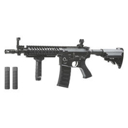 King Arms M4 TWS VIS CQB Elite Vollmetall S-AEG 6mm BB schwarz