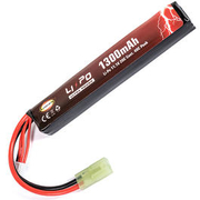 Evolution Ultra-Power LiPo Akku 11,1V 1300mAh 20C / 40C Long Stock-Tube Type