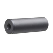 GK Tactical Aluminium Suppressor Silencer 110 x 35mm 14mm+ / 14mm- schwarz
