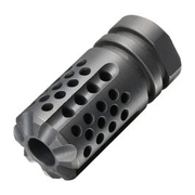 Dytac / SLR Stahl Synergy Mini Compensator Flash-Hider stahlgrau 14mm-