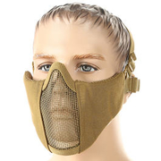 101 INC. Airsoft Gittermaske coyote
