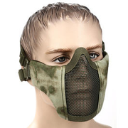 WoSport WST Airsoft Gittermaske Lower Face AT FG