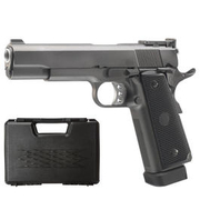 Well M1911 Hi-Capa 5.1 TAC1 Vollmetall CO2 Blowback 6mm BB grau inkl. Koffer