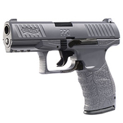 Umarex Walther PPQ Heavy Metal Vollmetall Springer 6mm BB Metal Grey inkl. Ersatzmagazin