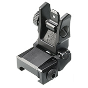 UTG Tactical Low Profile Flip-Up Rear Sight f. 21mm Schienen schwarz