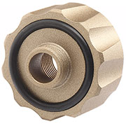 G&G Battle Owl Tracer Silencer Adapter 14mm- auf 12mm- Desert Tan