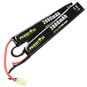 Phantom Airsoft LiPo Akku 7,4V 2000mAh 20C Small-Long Two-Panel Type