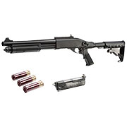 Golden Eagle M8871 Vollmetall Pump Action Gas Shotgun 6mm BB schwarz