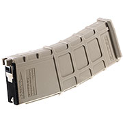GHK M4 / G5 GBB GMAG Polymer Magazin Low-Cap 40 Schuss (Softairgas-Version) tan