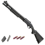 Golden Eagle M8872 Vollmetall Pump Action Gas Shotgun 6mm BB schwarz