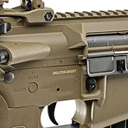 Evolution Airsoft Recon UX4 9 Zoll Carbontech S-AEG 6mm BB Tan