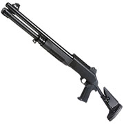 Nuprol Sierra Storm Bravo Tri-Barrel Shotgun Flex Stock Polymer Springer 6mm BB schwarz
