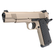 Nuprol Raven M1911 MEU Vollmetall GBB 6mm BB Tan