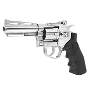 KLI Titan 4 Zoll Revolver Vollmetall CO2 6mm BB Chrome-Finish