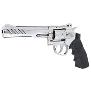 KLI Titan 6 Zoll Revolver Vollmetall CO2 6mm BB Chrome-Finish
