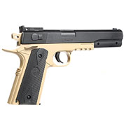Cybergun Colt 1911 Target Kit inkl. Holster Springer 6mm BB Desert Tan