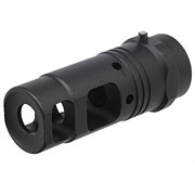 Ares Aluminum Type-C Flash-Hider f. Blast Shield schwarz 14mm+