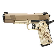 Nuprol Raven M1911 MEU Railed Vollmetall GBB 6mm BB Tan / Digital Desert