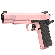 Nuprol Raven M1911 MEU Railed Vollmetall GBB 6mm BB pink