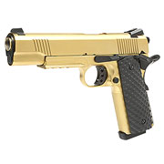Nuprol Raven M1911 MEU Railed Vollmetall GBB 6mm BB gold
