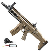 Cybergun FN Herstal SCAR-L Sportline ABS-Version Komplettset S-AEG 6mm BB tan