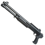 Nuprol Sierra Storm Charlie Tactical Tri-Barrel Shotgun Polymer Springer 6mm BB schwarz