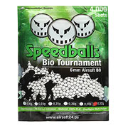 Speedballs Bio Tournament BBs 0.32g 4.000er Beutel weiss