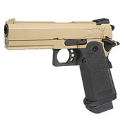 KLI Hi-Capa 4.3 Vollmetall GBB 6mm BB Desert Tan