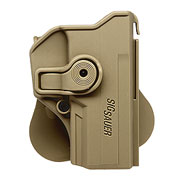 IMI Defense Level 2 Holster Kunststoff Paddle für Sig Sauer P250 C / P320 C Modelle Tan