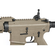 Tippmann M4 CQB RIS Basic Training Komplettset AEG 6mm BB Tan