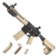 King Arms Black Rain Ordnance Fallout 15 Shorty Vollmetall S-AEG 6mm BB Dark Earth