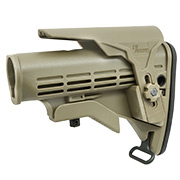 IMI Defense M4 Enhanced Schaft mit verstellb. Wangenauflage Tan