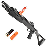 BO Manufacture Fabarm STF12 11 Zoll Compact Shotgun Springer 6mm BB schwarz - Shooter AR Version