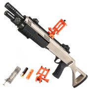 BO Manufacture Fabarm STF12 11 Zoll Compact Shotgun Springer 6mm BB FDE - Shooter AR Version