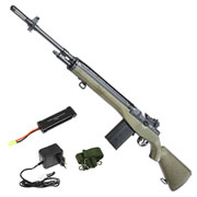 Cyma M14 Rifle Softair Vollmetall Komplettset S-AEG 6mm BB oliv