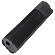Big Dragon Airsoft OS 45-K Aluminium Mock Suppressor 14mm- schwarz