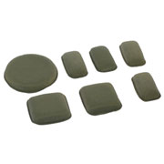 nHelmet Universal Helm Protective Pads Set Foliage Green