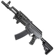 APS AK-74 PMC Tactical Vollmetall BlowBack S-AEG 6mm BB schwarz