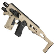 CAA Airsoft Division Micro RONI Conversion Kit f. TM / KSC / VFC / WE G17 / G18C / G22 / G31 Dark Earth